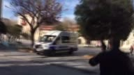 Turkish police have sealed off a square in central Istanbul after a large explosion hit the historic Sultanahmet district on January 12 2016 in...
