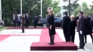 Turkish President Recep Tayyip Erdogan is welcomed by Croatian President Kolinda GrabarKitarovic with an official welcoming ceremony and two leaders...