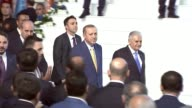 Turkish President Recep Tayyip Erdogan on May 21 2017 returned to his post as Justice and Development Party chairman by votes of 1414 party delegates...
