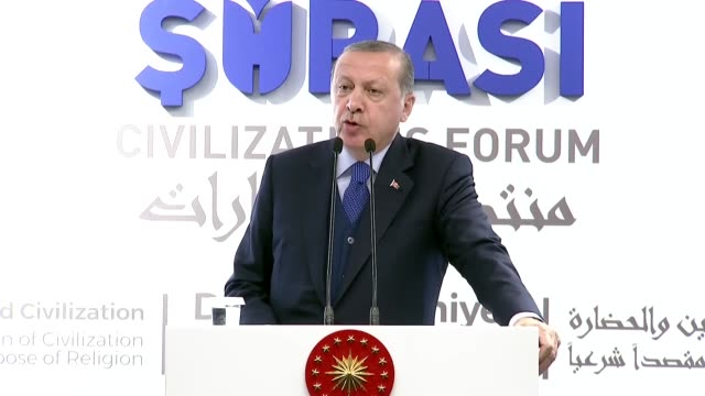 Turkish President Recep Tayyip Erdogan said on October 21 2017 the US could not be called a civilized country after arrest the warrants issued for...