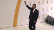 Turkish Prime Minister Ahmet Davutoglu delivers a farewell speech during the second extraordinary congress of AK Party at Ankara Arena in Ankara...