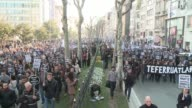 Turkish riot police were out in force as large crowds massed in Istanbul to demand justice for a prominent Turkish Armenian journalist murdered seven...