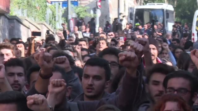 Turkish university students demand the abolition of the Higher Education Board created by the military junta in 1981 to manage universities and now...