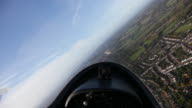 Turn during glider flight