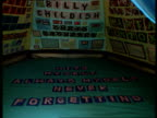 Nominations ITN ENGLAND London INT Tent in art gallery embroidered with the names of all the people she has slept with Alice Rawsthorn interview SOT...