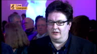 Liverpool Merseyside Tate Liverpool INT Mark Wallinger LIVE interview SOT Flabbergasted / Happy because I was able to make a work that has some...
