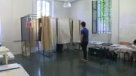 Turnout in the second round of parliamentary elections in France is sharply down on the figure in 2012 with three hours left to vote the interior...
