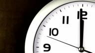 Twelve O'clock Clock - ticking clock