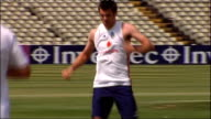 James Anderson dropped from match against Stanford Superstars LOCATION James Anderson training
