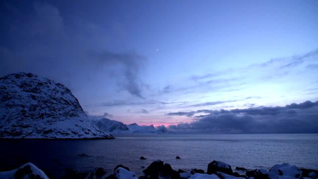 Twilight Above  Fjord