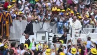 Two 19thcentury nuns on Sunday became the first Palestinians to gain sainthood during an openair mass celebrated by Pope Francis in St Peter's Square...