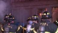 Two Alarm Fire Breaks Out in the Basement of Macy's Flagship Store at Herald Square at Macy's Herald Square on October 25 2013 in New York New York