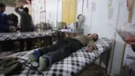 Two civilians were killed Thursday by shelling in the Douma area northeast of Damascus while Syria government forces were also pounding Eastern...