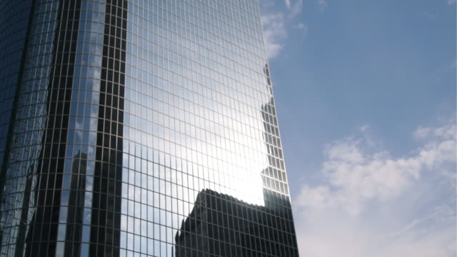 Two Clips of Sun Going Down In the Financial District