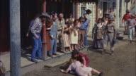 MS Two dance hall girl fighting on street