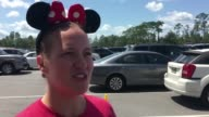 Two days after Hurricane Irma wreaked havoc across Florida the popular theme park Disney World reopens its doors welcoming many Florida residents and...