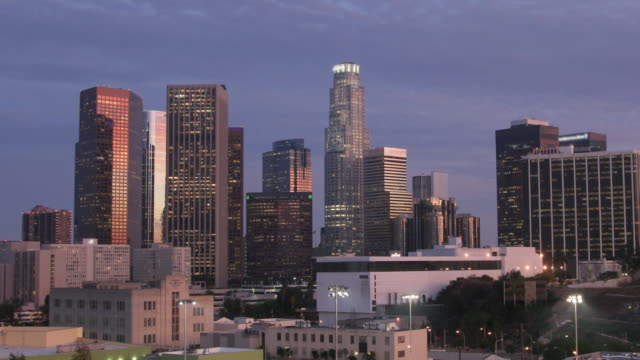 Two Different Shots of the LA Skyline