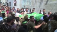 Two Hamas militants died in separate tunnel collapses in the Gaza Strip overnight the Palestinian Islamist group which controls the territory said on...