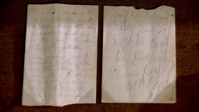 CU Two Hand written notes / Melbourne, Victoria, Australia