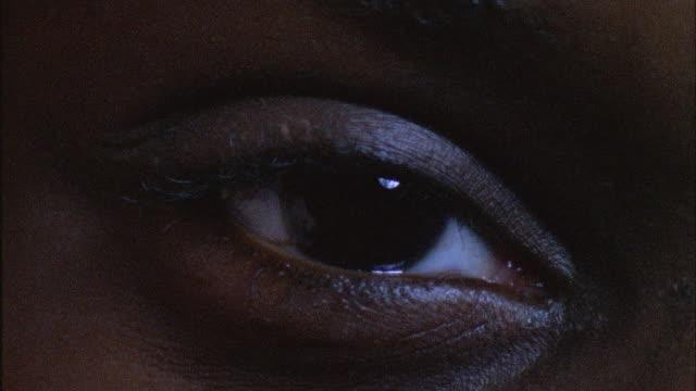 ECU, PAN Two human eyes