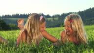HD: Two Little Girls Fighting