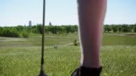 Two Men Golf Together