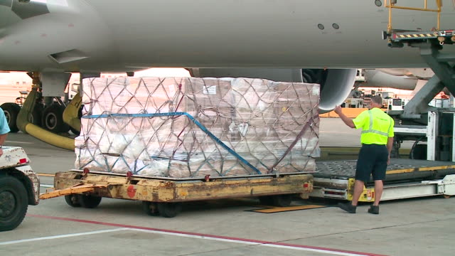 WGN Two United Airlines jets took off from Chicago to San Juan Puerto Rico on Sept 28 carrying emergency supplies to the victims of Hurricane Maria...