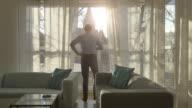Twee video's van de zonnige ochtend in 4K