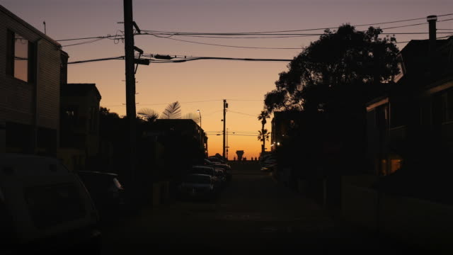 Two videos of sunset in 4K