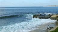 Zwei videos der Wellen in 4 K