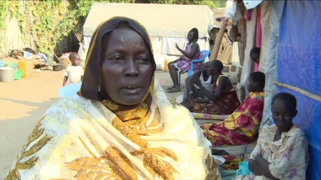 Two years since civil war began in South Sudan over 185000 people remain sheltered in UN camps across the country despite a peace agreement on paper