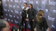 Tyler Hubbard and Brian Kelley at the 49th Annual Academy of Country Music Awards Arrivals at MGM Grand Garden Arena on April 06 2014 in Las Vegas...