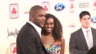 Tyler Perry and Gelila Bekele at the Steve Harvey Hosts 2nd Annual Steve Harvey Foundation Gala in NY at New York NY