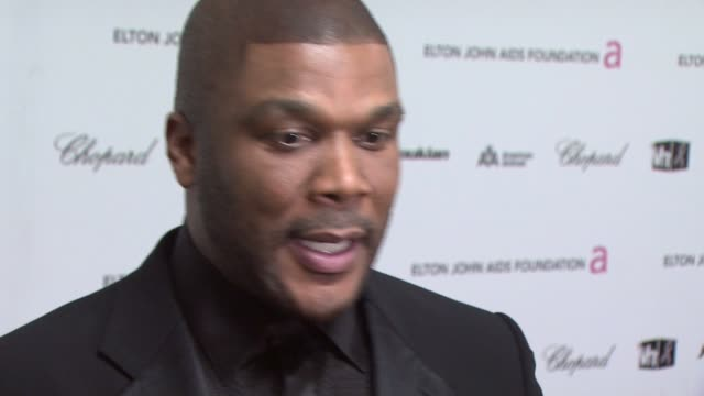 Tyler Perry at the 17th Annual Elton John AIDS Foundation Academy Award Viewing Party Par at Los Angeles CA