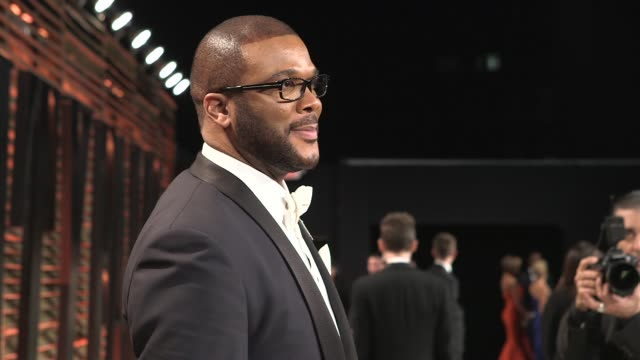 Tyler Perry at the 2014 Vanity Fair Oscar Party Hosted By Graydon Carter Arrivals on March 02 2014 in West Hollywood California