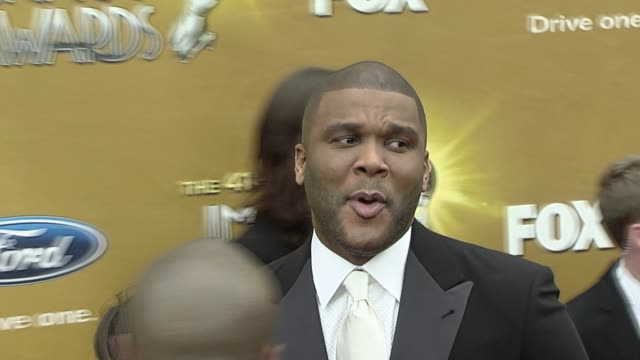 Tyler Perry at the 41st NAACP Image Awards at Los Angeles CA