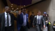 Tyler Perry exits the Today show in Rockefeller Center gets into his car in Celebrity Sightings in New York