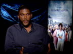 Tyler Perry on growing up and learning not to share your dream with people and how it relates to the character Ben in the movie at the THE FAMILY...