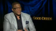 Tyler Perry on his character at the 'Good Deeds' Junket in Hollywood CA 02/13/12