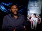 Tyler Perry on his character's hair and on playing it at the THE FAMILY THAT PREYS junket at Los Angeles CA