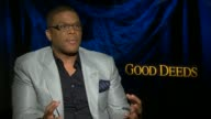 Tyler Perry on the break up scene in the movie at the 'Good Deeds' Junket in Hollywood CA 02/13/12
