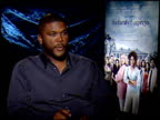 Tyler Perry on the negative critics and holding on to the dream at the THE FAMILY THAT PREYS junket at Los Angeles CA