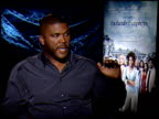Tyler Perry on whta he loved most about the characters at the THE FAMILY THAT PREYS junket at Los Angeles CA