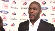 Tyler Perry says people are not supporting each other nowadays says young black men are in need of support talks about his mentors at the Steve...