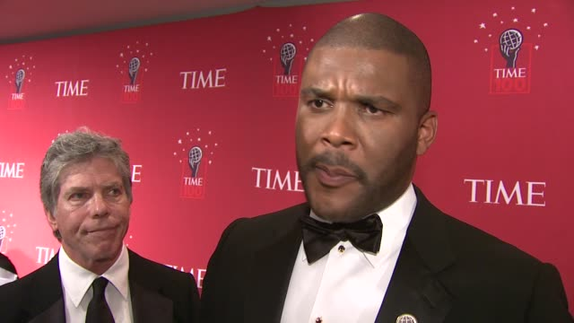 Tyler Perry talks about how excited and honored he is to be on Time's List Oprah's role as his biggest influence what keeps him inspired and the...