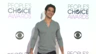 Tyler Posey at the People's Choice Awards 2016 at Nokia Plaza LA LIVE on January 6 2016 in Los Angeles California