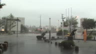 Typhoon Goni torrential downpour