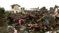Typhoon Haiyan Storm Surge Destruction In Tacloban City