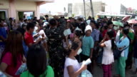 Typhoon Haiyan Survivors Receiving Aid In Tacloban