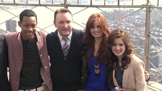 Tyrel Jackson Williams China Anne McClain Coco Jones Gary Marsh Tyler James Williams Guest Debby Ryan and Laura Marano at The Disney Channel And...
